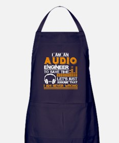 Funny Audio Apron (dark)