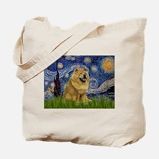 Starry / Chow #! Tote Bag