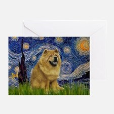 Starry / Chow #! Greeting Cards (Pk of 10)