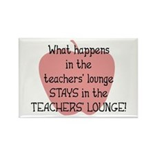 Teachers' Lounge Rectangle Magnet