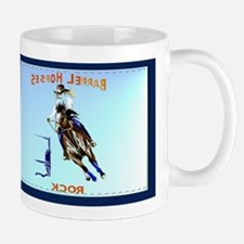 Barrel Horses Rock Mug