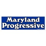 Maryland Progressive Bumper Sticker