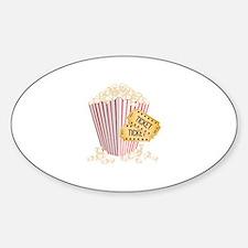 Movie Popcorn Decal