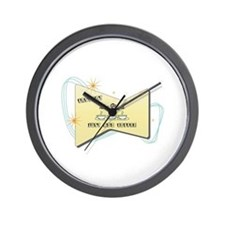 Instant Tuba Player Wall Clock