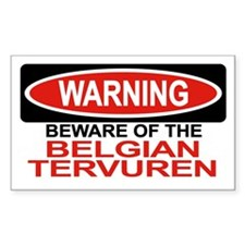 BELGIAN TERVUREN Rectangle Decal