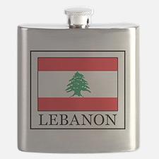 Cute Mt lebanon hornets Flask