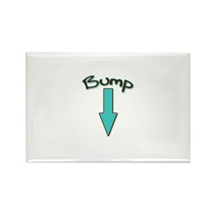 Bump (with Arrow) Rectangle Magnet (100 pack)