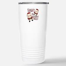 Naughty Or Nice Travel Mug