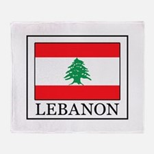Lebanon Throw Blanket