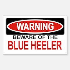 BLUE HEELER Rectangle Decal