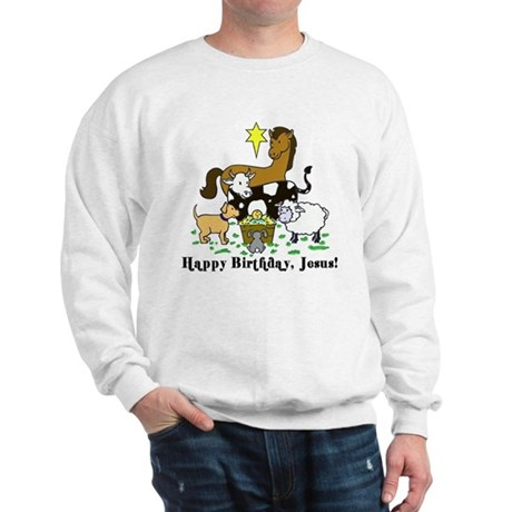 Jesus Birthday Sweatshirt