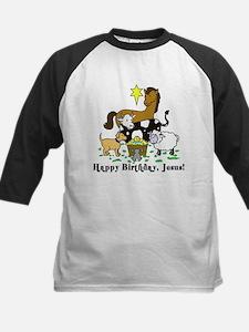 Jesus Birthday Kids Baseball Jersey
