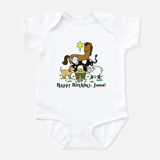 Jesus Birthday Infant Bodysuit