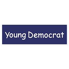 Young Democrat Bumper Bumper Sticker