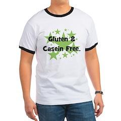Gluten & Casein Free - stars T