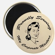 Corporate Masters (female) Magnet