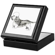 Dandie Dinmont Terrier Keepsake Box