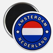 Unique Amsterdam netherlands Magnet