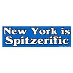 New York Spitzerific Bumper Sticker