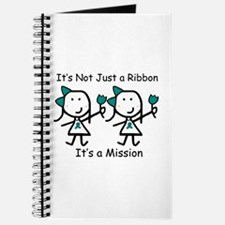 Teal Ribbon - Mission Sisters Journal