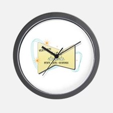 Instant Tour Guide Wall Clock