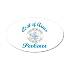 Coat of Arms Palau Wall Decal