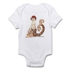 Artisimae, merboy, merman Infant Bodysuit