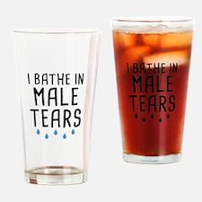 I Bathe In Male Tears Drinking Glass