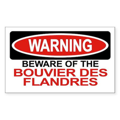 BOUVIER DES FLANDRES Rectangle Sticker