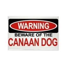CANAAN DOG Rectangle Magnet