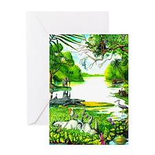 Peaceable Kingdom - Greeting Card