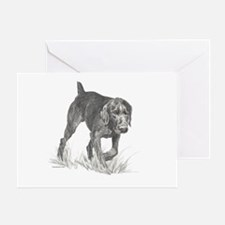 German Wire Hair Pointer Greeting Card
