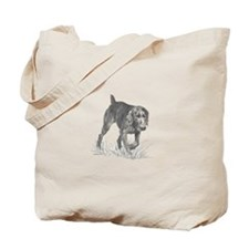 German Wire Hair Pointer Tote Bag