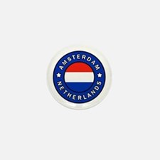 Funny Proud to be dutch Mini Button