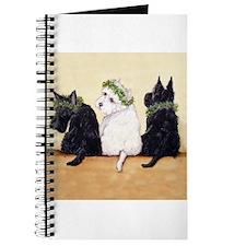 Scottie Westie Christmas Journal