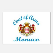Coat of Arms Monaco Postcards (Package of 8)