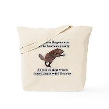 beaver humor gifts Tote Bag