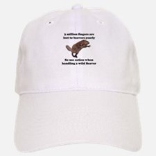 beaver humor gifts Baseball Baseball Cap