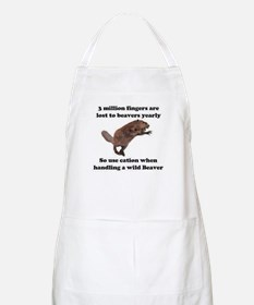 beaver humor gifts BBQ Apron
