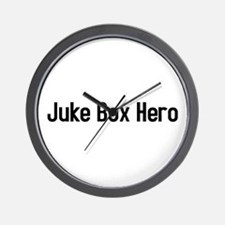 juke box hero Wall Clock