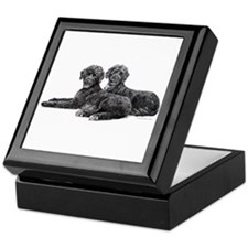 Portuguese Water Dogs Keepsake Box