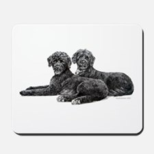 Portuguese Water Dogs Mousepad