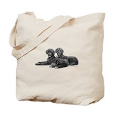 Portuguese Water Dogs Tote Bag