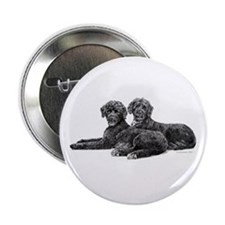 "Portuguese Water Dogs 2.25"" Button"