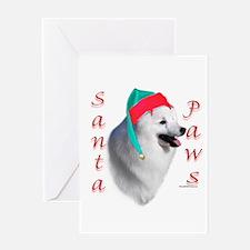 Eskimo Dog Paws Greeting Card