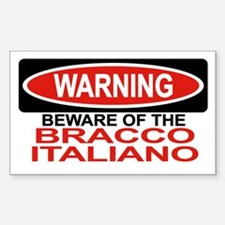 BRACCO ITALIANO Rectangle Decal