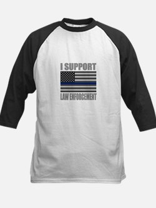 I support law enforcement Baseball Jersey