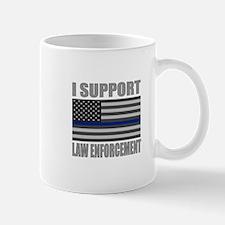 I support law enforcement Mugs