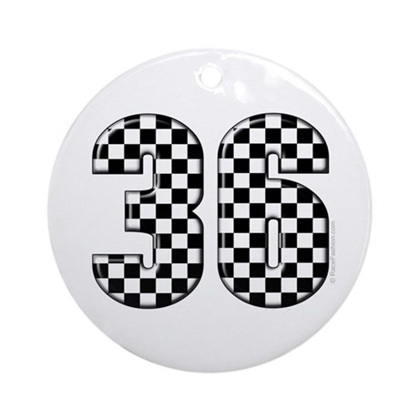 Motor Sport #36 Ornament (Round)
