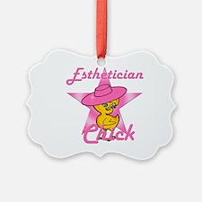 Esthetician Chick #8 Ornament
